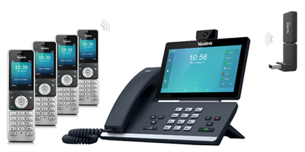 Meet Yealink Wireless DECT Solution -New W53P, New flexibility 4