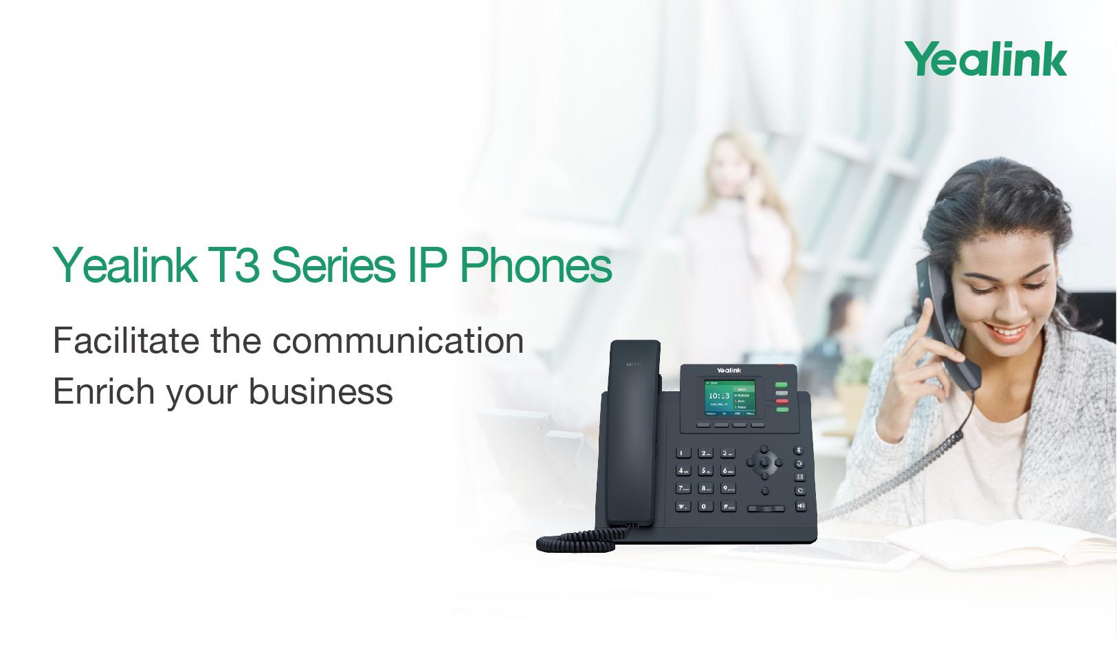 Yealink New Product Release: Yealink T3 Series IP Phones