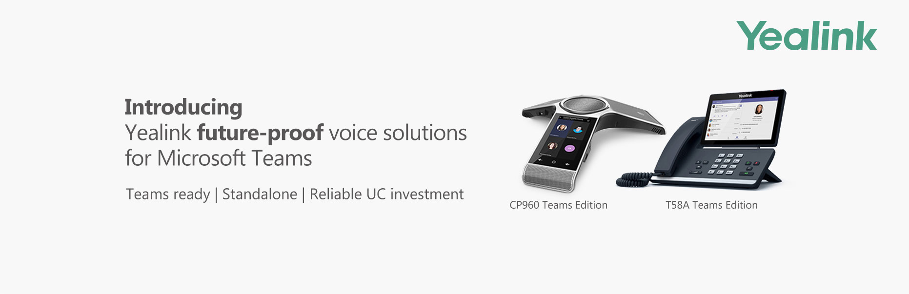 Yealink delivers future-proof voice solutions for the