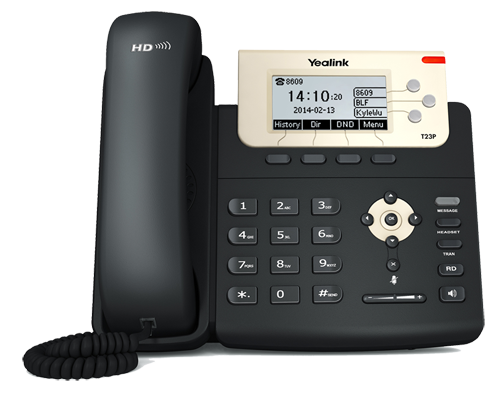 SIP-T23P_T2 Series Phones_Products_Yealink | UC&C terminal