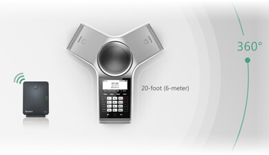Yealink Newly Launched CP930W <br/>- Boost Mobility, Easy Conferencing Anywhere