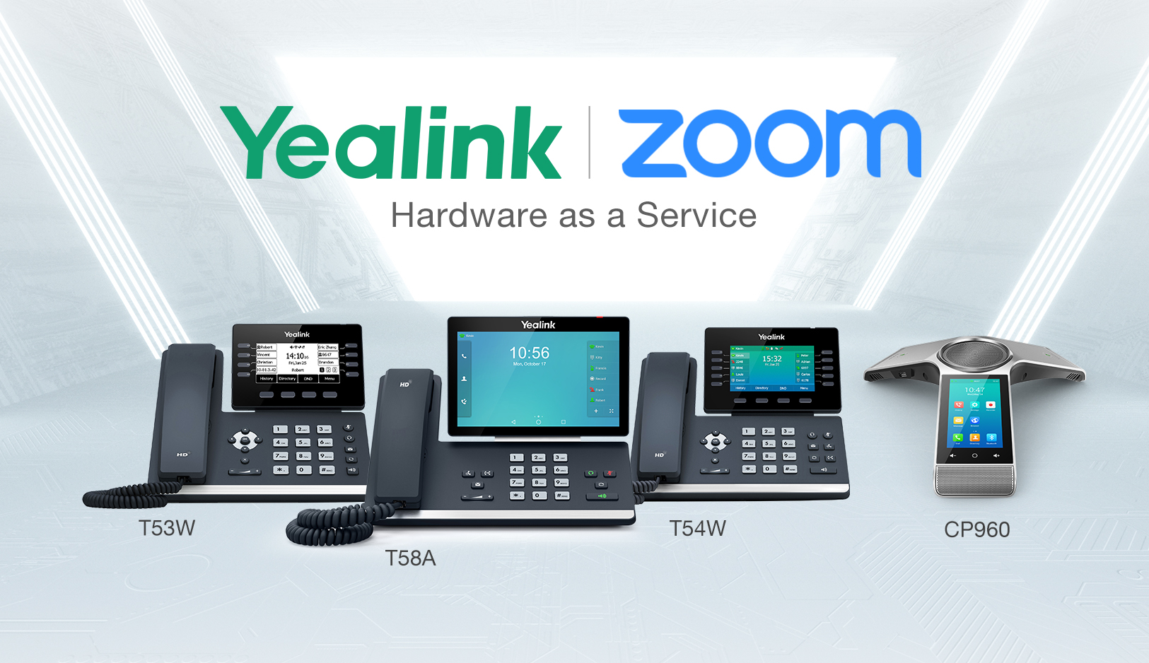 Yealink Contributes to Zoom Hardware as a Service