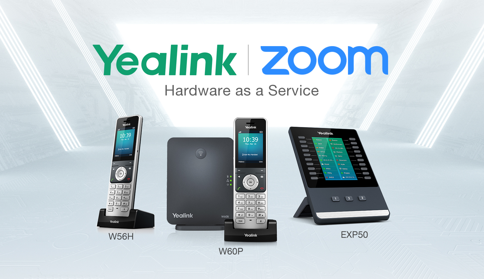 Yealink announces new products for the Zoom Hardware as a Service Program