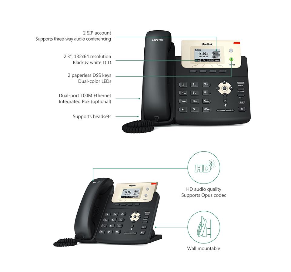 Yealink T21 IP Telefon