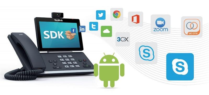 Yealink SIP-T56A Personalización empresarial sin esfuerzo