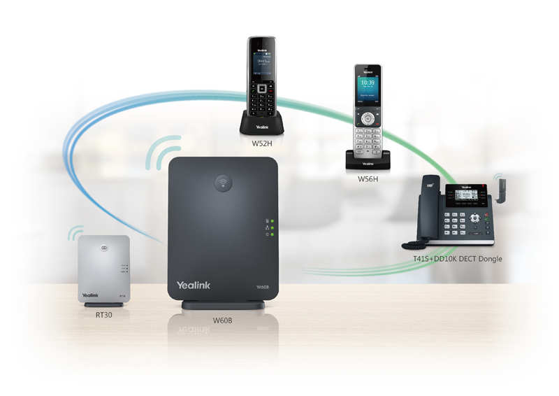 Yealink DECT Solution Ecosystem