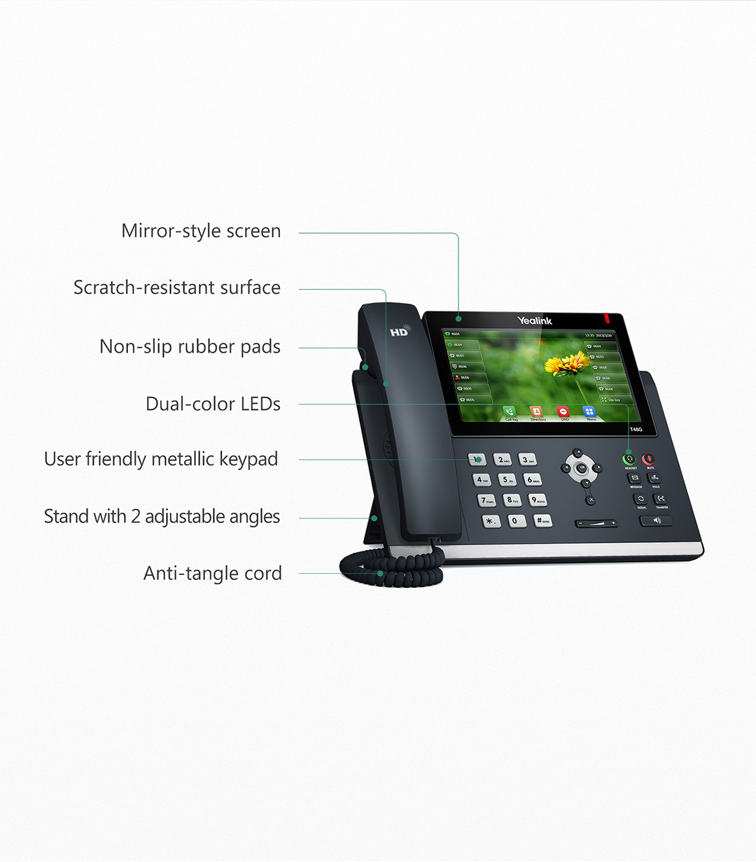 SIP-T48G_T4 Series Phones_Products_Yealink | UC&C terminal