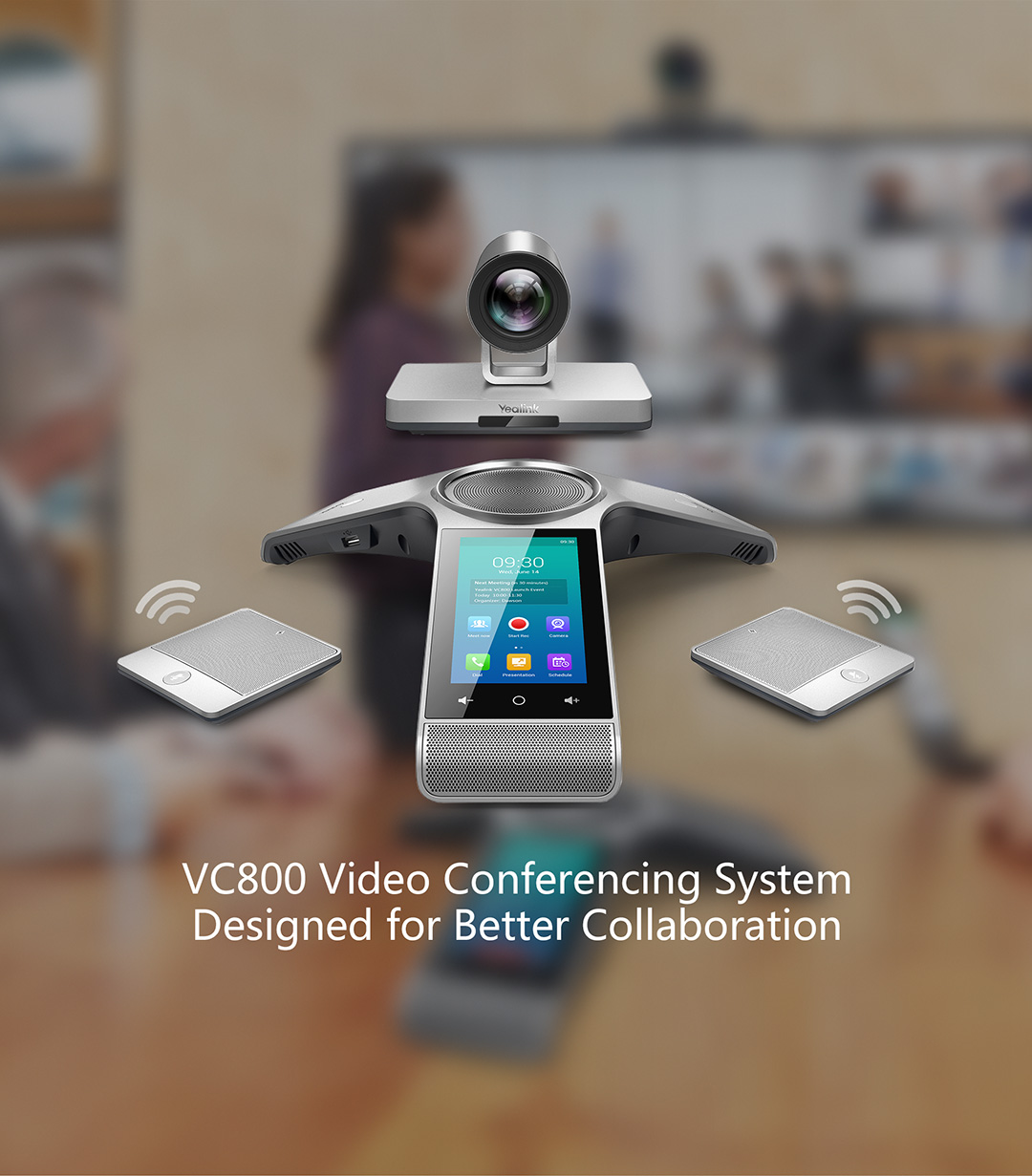 Vc800 Vc Room System Products Yealink Uc C Terminal Video
