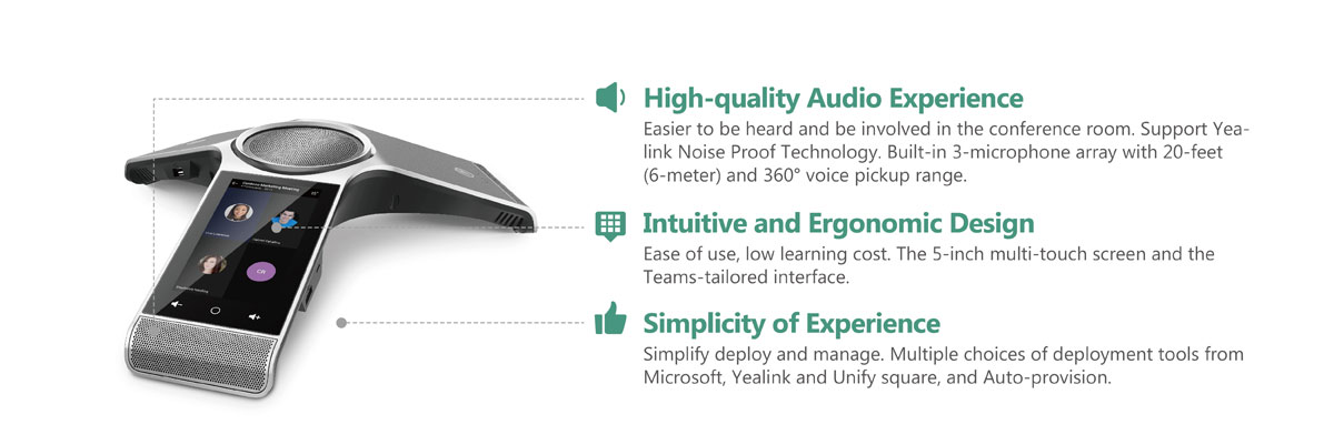 CP960 Microsoft Teams _Voice Devices_Products_Yealink | UC&C