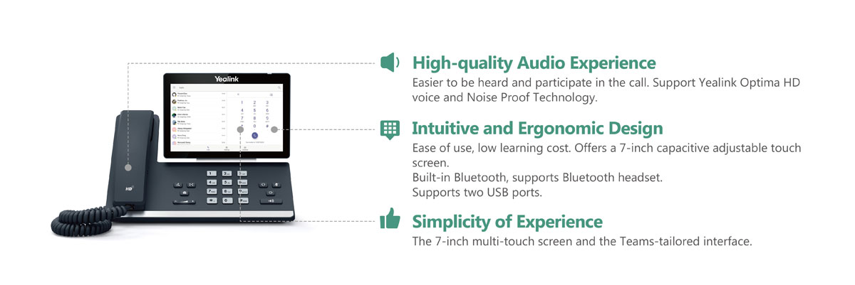 SIP-T58A Microsoft Teams_Voice Devices_Products_Yealink