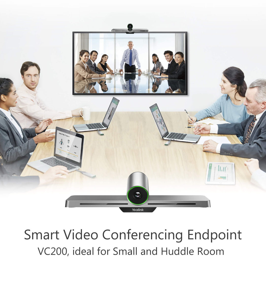 VC200_VC Room System_Products_Yealink   UC&C terminal, video