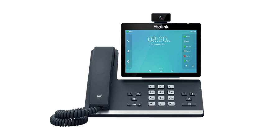 Yealink SIP-T58A with Camera - Smart Business Phone - Voice Communication   Yealink
