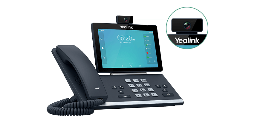 Yealink SIP-T58A with Camera - Smart Business Phone - Voice Communication | Yealink