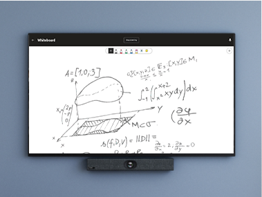 freely draw, sketch, and write together on a shared digital canvas