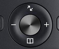Dedivated CD-textured 'OK' button