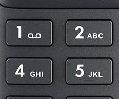Optimized dialpad layout with larger key space
