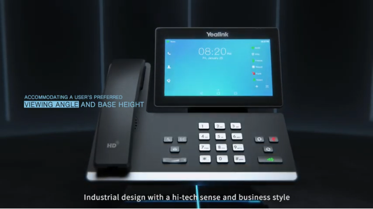New T5 Business Phone Series 3D Studio Max Video English Version
