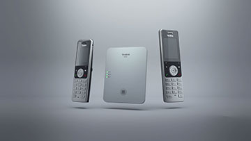 DECT IP Multi Cell System W80 Product Video - German Version