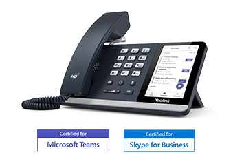 SIP-T55A<br>for Microsoft Teams