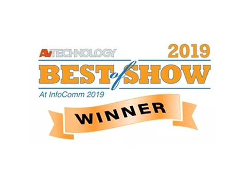 VP59 Awarded as BEST of SHOW at InfoComm 2019
