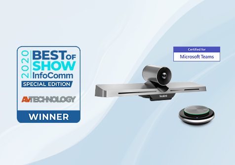 VC210 Wins Best of Show Award at InfoComm 2020 Connected